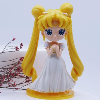 Large Sailor Moon Cake Decoration Decoration Wings Water Ice Moon Hand Office Big Eyes Beautiful Girl。31847