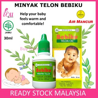Minyak Telon Bebiku 30ml Air Mancur My Baby Herbal Telon Oil