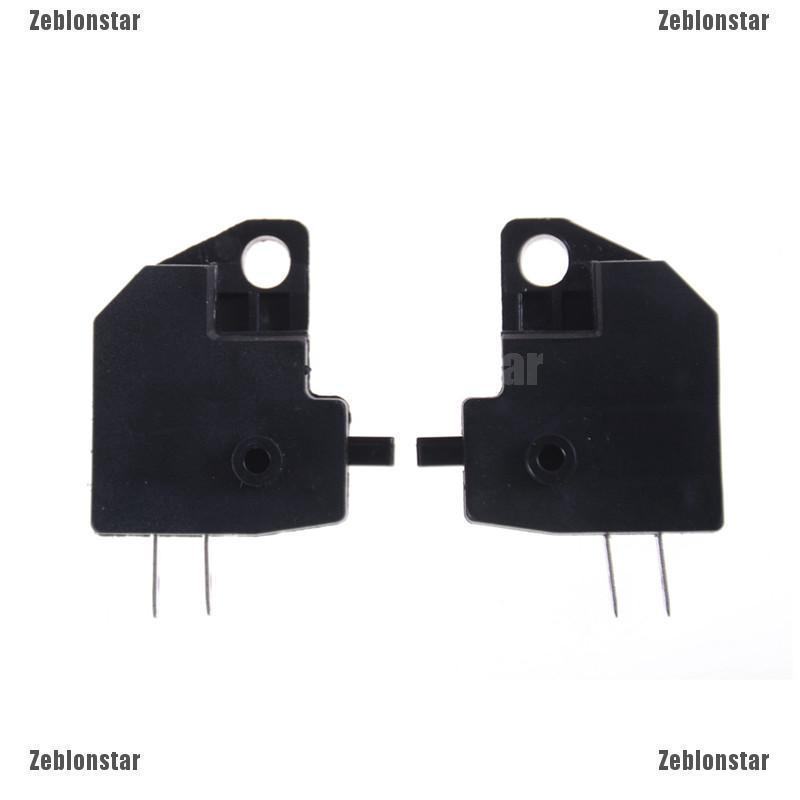y2 2PCS Universal Motorcycle Scooter Front Left Lever Brake Stop Light Switch