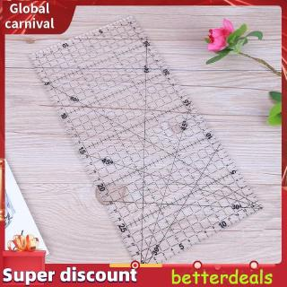 better30 X 15cm Big Size Thi Triangle Cloth Patchwork Sewing DIY Tool Ruler