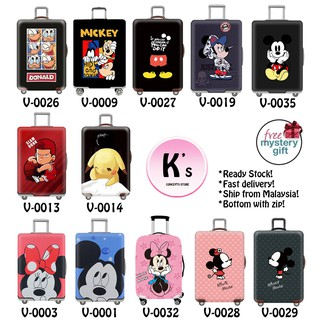 Mickey/Minnie Elastic Luggage Covers Luggage Suitcase Covers