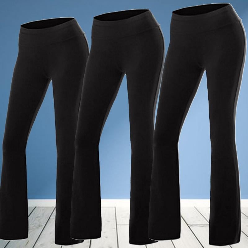Women Slim High Waist Yoga Fitness Leggings Gym Stretch Sport Pants Trousers