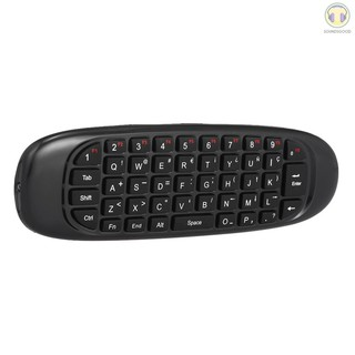 ♫SG♫ Deutsch Version 2.4G Air Mouse Wireless Keyboard Remote Control 6-Axis Motion Sensing for Smart