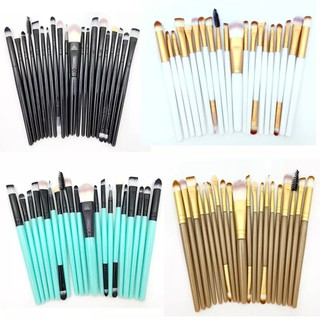 Tendril 20 Eye Makeup Brushes Beauty Tools Neutral Logo Optional