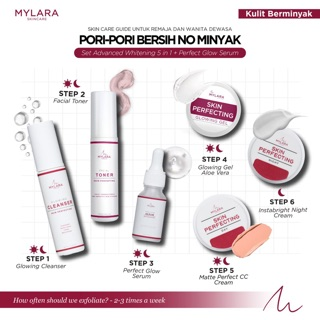 MYLARASKINCARE Advanced Set Whitening 5 in 1 + Perfect Glowing Serum