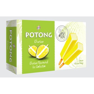 F&N King's Potong Durian Flavoured Ice Cream (6's x 60ml) [KL & SELANGOR DELIVERY]