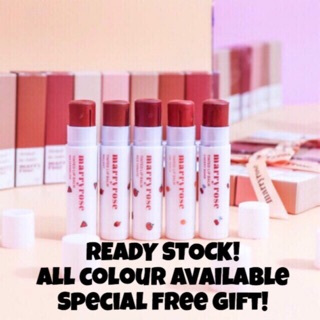 Marryrose Tinted Lipbalm  [READY STOCK] wrap WITH RIBBON 🎀
