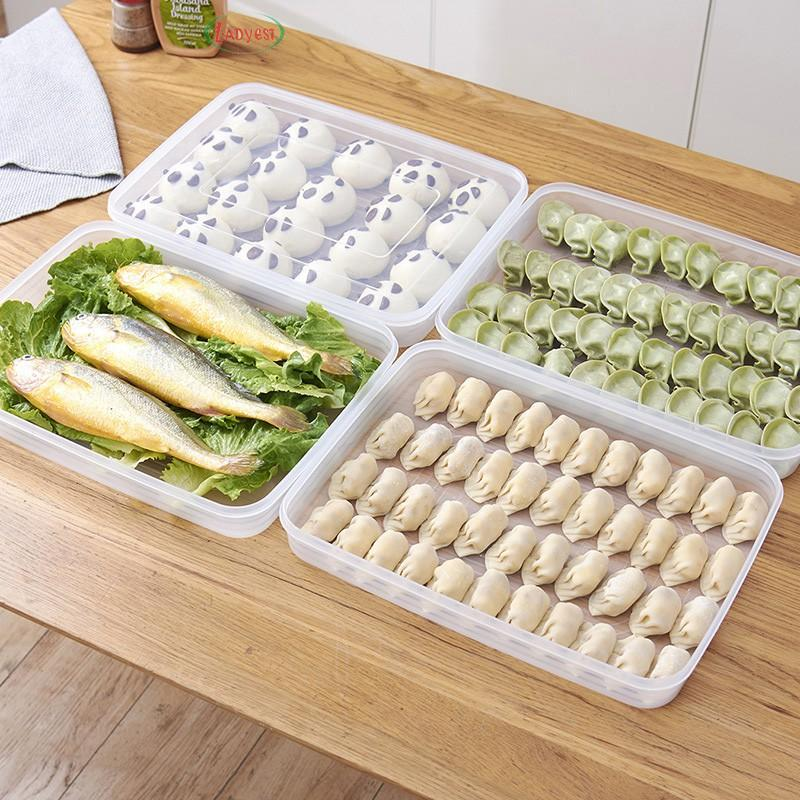 Food-grade Dumpling Refrigerator Large Storage Box Cakes Food Container