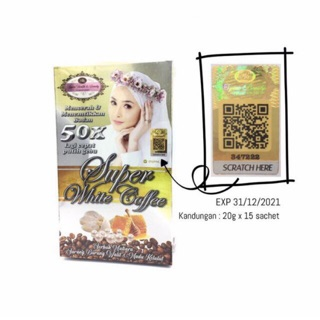 NEW PACKAGING SYMA SUPER WHITE COFFEE PLUS MENGKUDU