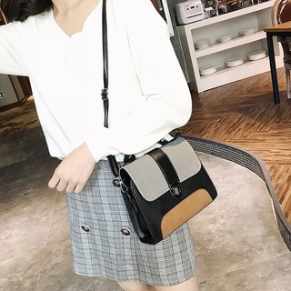 Korean fashion simple outdoor dual-use women's hand shoulder bag