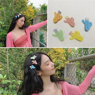 Cute Cactus Hair Clip Girls Hairpin Korea Hair Accessories High Quality Hair Accessories Headpiece
