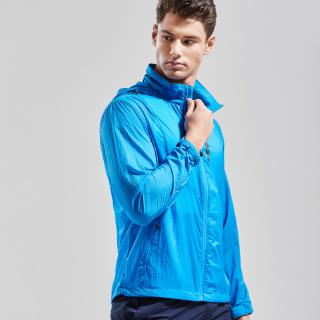 Summer and autumn new men's European and American style Slim sports thin section breathable anti-smash clothing jacket