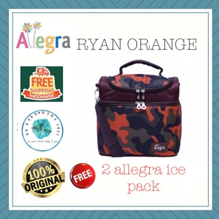 RAYA SALE-ALLEGRA NEW MAXI COOLER (NMC)-RYAN ORANGE