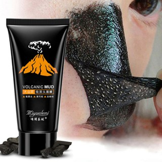 Lava Blackhead Black Mud Deep Cleansing Purifying Peel Off Facail Face Mask