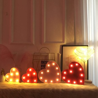 ⊙Manufacturers selling English letters lights do DIY birthday gift to marry him adornment small night led light string