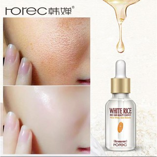 (STOCK READY) ROREC WHITE RICE SKIN BEAUTY ESSENCE SERUM PUTIH BERAS 15ML