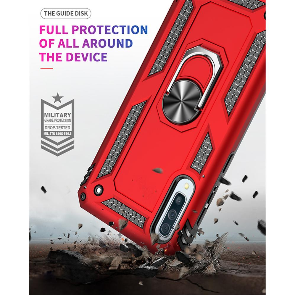 Casing Samsung A50 A70 A60 A80 A40 A30 A20 A10 A2 Core Sergeant Anti-fall Support Hard Armor Cover