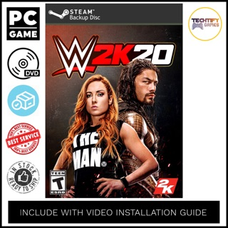 [PC Game] WWE 2K20 Deluxe Edition - Offline [DVD]