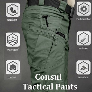 Tactical Pants Overalls Trousers Multi-pocket Pants Waterproof Sweat-absorbent Training Workwear Men's Military Pant