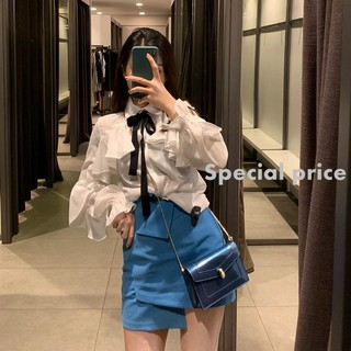 In the early autumn of 2019, the new UR ZARA COS ece chiffon wild bow shirt shirt 3661181.28853。93242