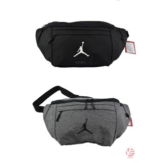 Nike Jordan Sling Bag Crossbody Black Gray 9a0242