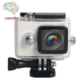 For Xiaomi Yi Sports Action Camera Diving Housing Case 40M(Black)