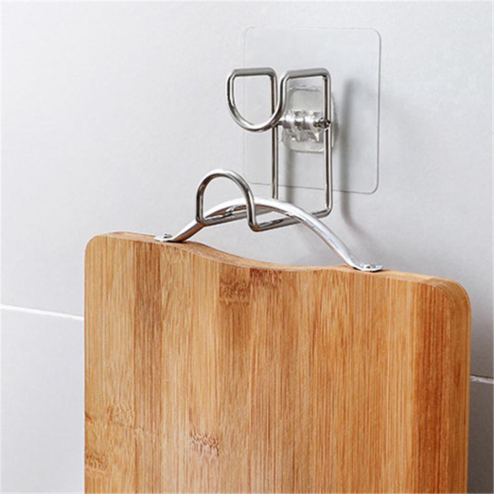 High Quality Useful Bathroom Kitchen Bath Washbasin Stainless Steel Hook