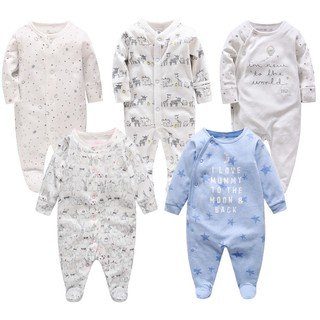 Vlinder RM16.6 seriescotton long sleeve baby boy girl romper toddle jumpsuit