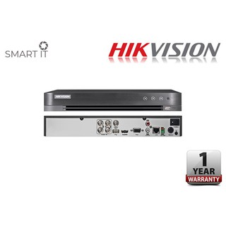 HIKVISION 4 CHANNEL FULL HD ANALOG FULL HD 1080P H.265 DVR (DS-7204HQHI-K1)