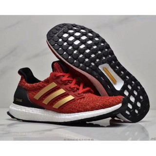 "Game of Thrones x adidas Ultra Boost ""House Targaryen""Unisex knitted breathable running shoes sports sneaker"