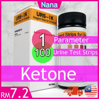 Ketone Urine Test Strip Slimming Atkins Diet Low Carbs