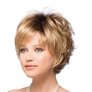 Female Short Curly Natural Fashion Hair Accessories Wigs for Ladies Cosplay Costume Party Wig