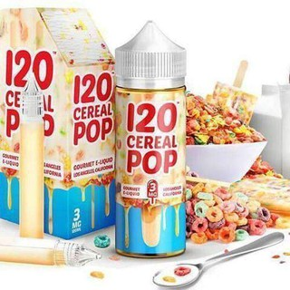 CONFIRM ORIGINAL  120 Cereal Pop E Juice (USA) 120ml Cream Pop