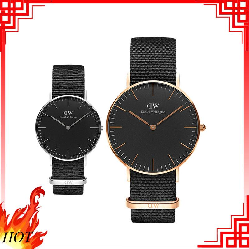 Danielwellington Dw Watch Textured Strap Watch Men Women watches Couple Watch