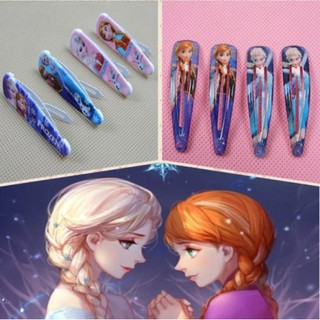 Frozen Elsa Anna Olaf kid Lovely BB Head dress hairpin hair clips updo Barrettes