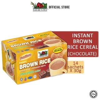 Nature's Own® Instant Brown Rice Cereal Drink (Chocolate)