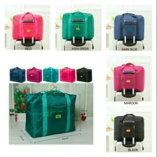 BORONG My Happy Travel Foldable Waterproof Luggage Bags Tote Duffel Bag  MyHappyTravel