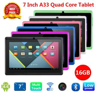 7 Inch Tablet PC Android Dual Core Kids Learning  Wifi Game Tablet 1GB Ram 16GB Rom Memory