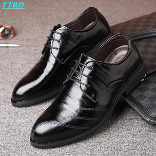 New Design Men Formal Office Lace Up Shoes Business Leather Dress Wedding Party Wear