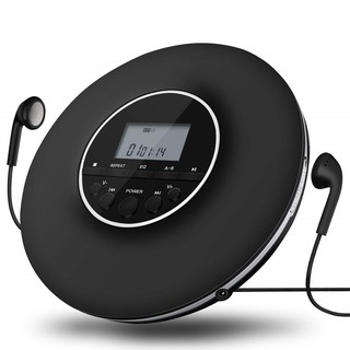 Portable CD Player Supports Most Formats CD/ CD-R/ CD-RW/ MP3/ WMA Audio Files Support AUX Connection