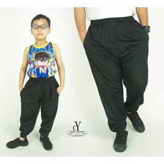 CY 355 TRACK BOTTOM SPORT PANT SWEAT PANT SCHOOL GYM  YOGA KID ADULT