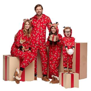 Comfortable Lovely Family Cotton Pajamas Christmas Xmas Sets Sleepwear Gift