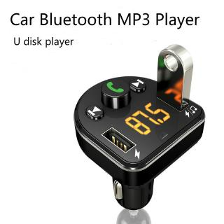 Car Bluetooth MP3 player multi-function converter car audio charge 4.8A two charger For iphone Huawei Samsung