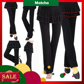 Matcha | Muslim Pyjama Pants Plus Size Yoga Sports Casual Women Long Pants