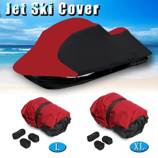 Heavy Duty Fishing Jet Ski Boat Cover Trailerable Jetski Universal