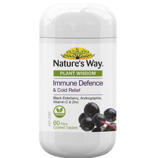 Natures Way Plant Wisdom Immune Defence 60 Tablets