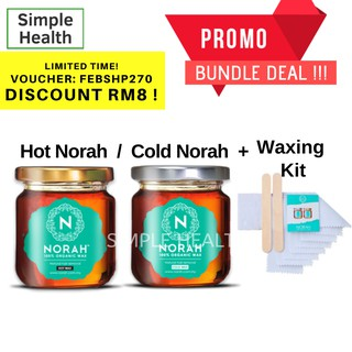 Norah Wax Organic Hair Removal Hot Cold NorahWax Men Women