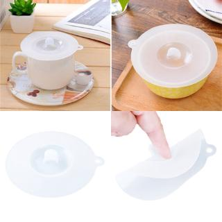 Creative Silicone Cup Cover Transparent Antidust Cover Cup Lid Home Decor Table Decoration