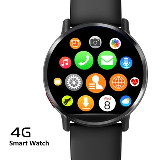 Aolon D19 4G 3G 2G WIFI SIM Watch Quad Core Heart Rate Monitor 800W Camera GPS 4G Android OS Smart Watch