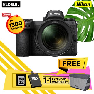 Nikon Z6 / Z 6Mirrorless Digital Camera with 24-70mm Lens (Nikon Malaysia Warranty)
